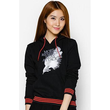Áo khoác nữ cổ chui hoodie Phúc An 1