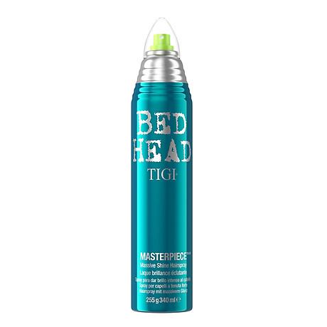 Keo xịt bóng tóc TIGI Bed Head Masterpiece shine hairspray giữ nếp cứng vừa Mỹ (300ml) 1