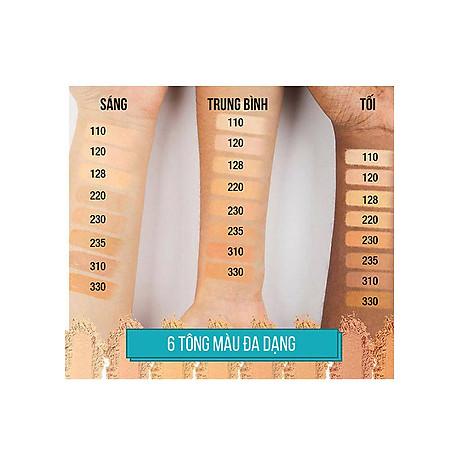 Phấn Nền Maybelline Fit Me Skin-Fit Powder Foundation 9gr Siêu Mịn Màng PM714 6