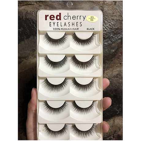 Mi 3D Red Cherry Eyelashes (số 28) 4