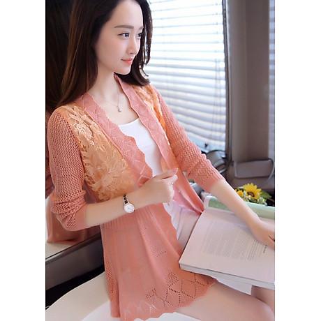 A o khoác len dệt kim xinh xă n- AK058 3