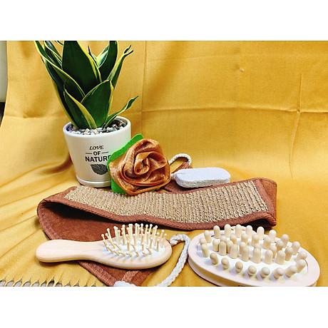 Lược massage bằng gỗ cho nữ 7