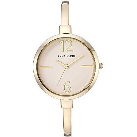Anne Klein Women s AK 3290LPST Gold-Tone Bangle Watch and Swarovski Crystal Accented Bracelet Set 5