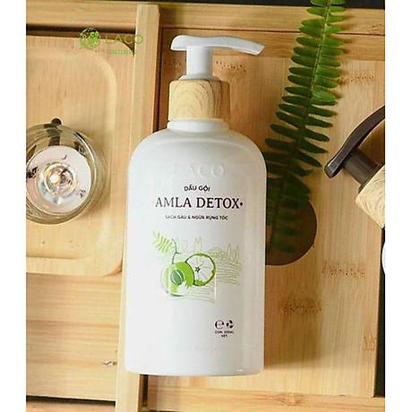 Dầu Gội Organic Amla Detox - Thương hiệu Laco - Cho tóc Chắc khỏe Ngăn ngừa Rụng và giảm gẫy rụng 2