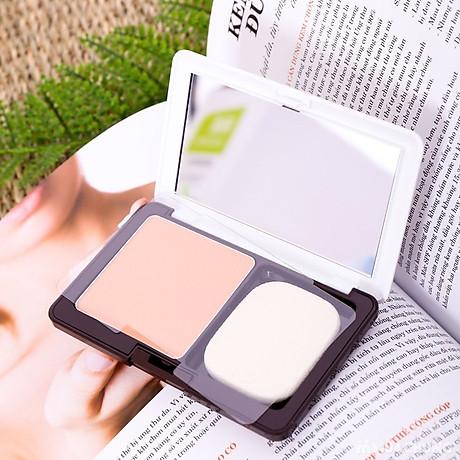 Phấn nền sáng da Naris Ailus WH Beauty Powder Foundation Nhật Bản 10g + Móc khóa 4