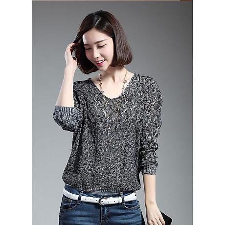 Áo len nữ tay lỡ cách điệu Haint Boutique AL17 1
