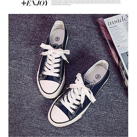 Giày Vải Thời Trang Sneaker Nam Nữ Thể Thao Thấp Cổ CV9 4