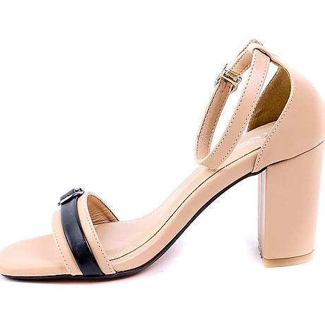 Giaỳ sandal Mozy đế vuông quai khóa MZSD034 5