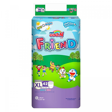 Tã Quần Goo.n Friend Gói Cực Đại XL42 (42 Miếng) 1