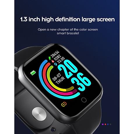 Đồng hồ thông minh Y68 LED và cảm ứng siêu mượt, hiển thị Cuộc gọi, Theo dõi sức khoẻ - Giao màu ngẫu nhiên 1