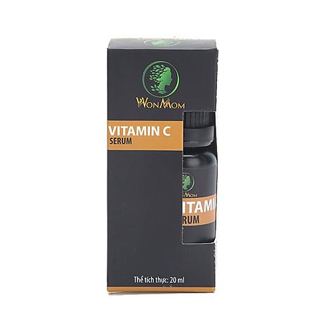Serum Vitamin C Dưỡng Trắng Sáng Da Mờ Thâm Se Khít Lỗ Chân Lông Tái Tạo Da Wonmom Chai 20Ml - Chăm Sóc Da Mẹ Bầu Và Sau Sinh 1