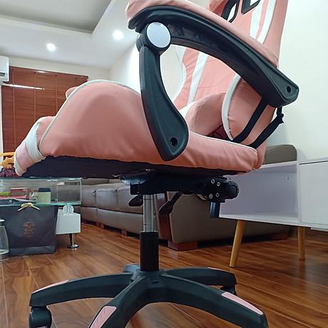 Ghế Chơi Game Bọc Da, Đệm Cao Su Non Cao Cấp - ghế gaming siêu cấp mẫu mới nhất -Ghế chơi game cao cấp dành cho game thủ chân xoay top362 2