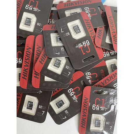 Thẻ nhớ 64gb camera Hikvision-Hàng Chính Hãng. 8