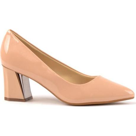 Giày Cao Gót Nữ Vasmono Da Bóng Công Sở V015074 2