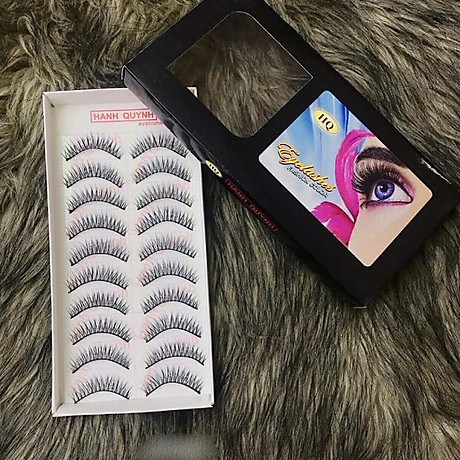Lông mi giả Eyelashes Fashion Color 10 cặp (số 015) 1