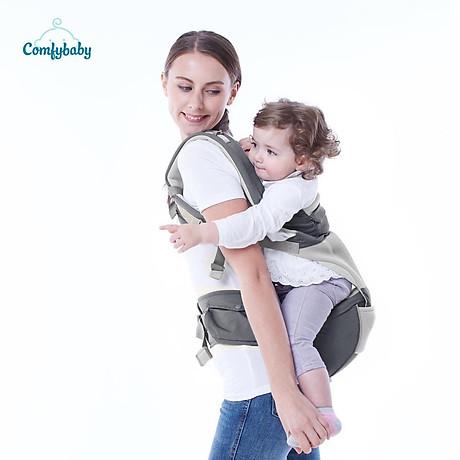 Địu ngồi cao cấp 4 tư thế chống vòng kiềng Comfy Baby 10