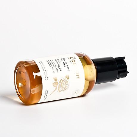 Combo dầu tẩy trang hoa hồng cocoon 140ml + Son dưỡng môi cocoon 5g 5