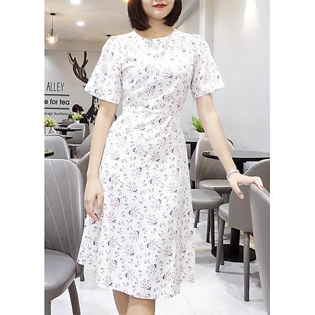 Đầm váy nữ dài hoa nhí, dáng xoè, đẹp nhẹ nhàng, đơn giản, ngọt ngào RD037.2 1