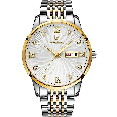 Đồng hồ nam PAGINI PA5588 dây thép kim dạ quang cao cấp chống nước 3ATM 5