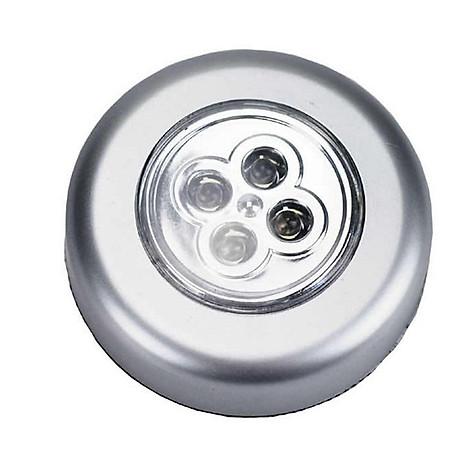 Đồng hồ đếm ngược 4 kênh, dùng pin cúc áo tặng kèm đèn 4 led dán tường , dán ô tô 8