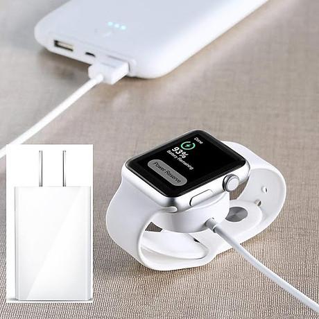 Combo Củ sạc và cáp sạc cao cấp cho đồng hồ Apple Watch 2