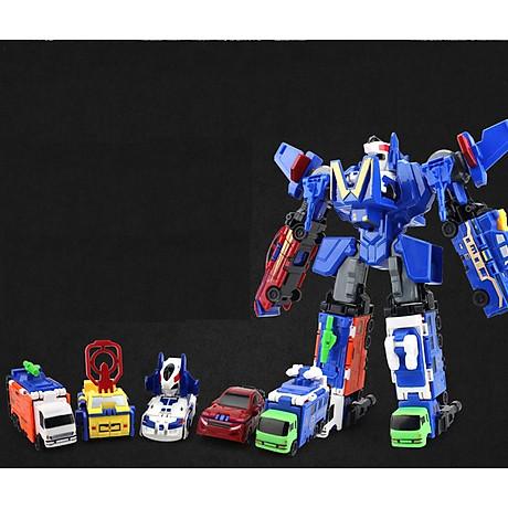 Bộ đồ chơi Robot lắp ghép biến hình cho bé yêu 7