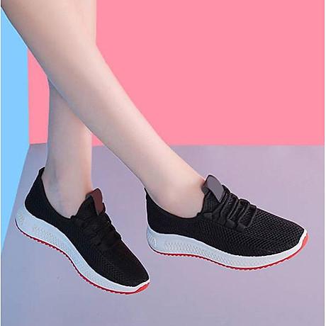 Giày Thể Thao Nữ Vải Cao Cấp 3Fashion Nhẹ Êm Chân Thích Hợp Đi Công Việc, Du Lịch, Vận Động - 3215 3