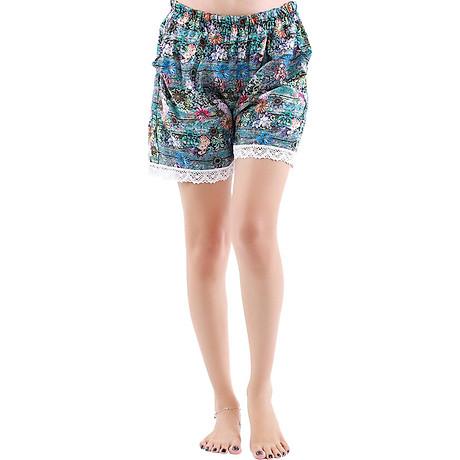 Combo 4 quần short nữ hoạ tiết thổ cẩm Phúc An 3014 8