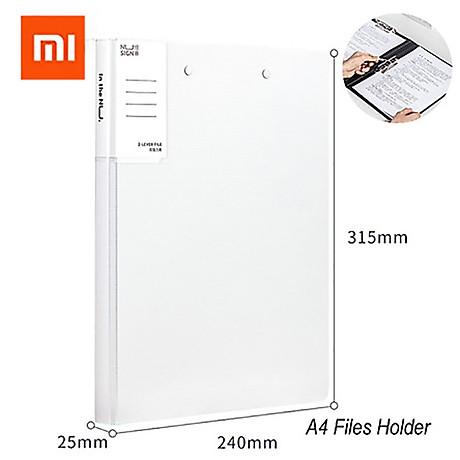 Xiaomi Nusign A4 Tệp Folder Độ dày 2.0MM Giá đỡ giấy tờ văn phòng với Bộ sắp xếp tệp kẹp bằng kim loại chắc chắn 1
