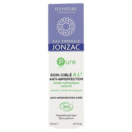 Gel Dưỡng Da Giảm Mụn và Làm Mờ Vết Thâm Eau Thermale Jonzac Pure Anti-Imperfection Care 15ml 4