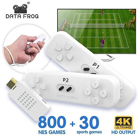 Máy chơi game điện tử HDMI Trò chơi somatosensory thể dục game điện tử hoạt động trong nhà 800 game NES và 30 game hoạt động thể chất. 1