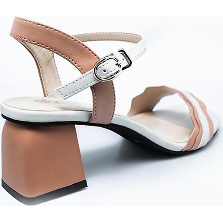 Giày Sandal Nữ Gót Vuông Dolapo SDV1086 2