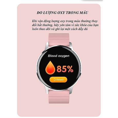 Đồng hồ thông minh đo nhịp tim, theo dõi sức khỏe T4 Pro ( Thiết kế sang trọng, chống nước cao IP68 ) - Hàng Nhập Khẩu 4
