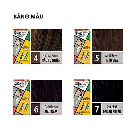 Nhuộm phủ bạc SEVEN EIGHT Hair Color (40g + 40g) Nhật Bản 2