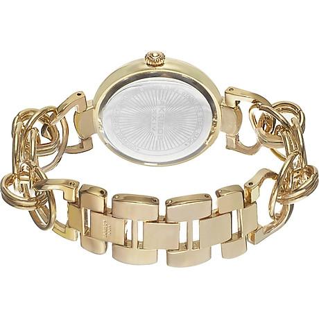 Akribos XXIV Women s Lady Diamond Watch - 14 Genuine Diamonds On a Mother-of-Pearl Dial with Chain Link Bracelet Watch - AK645 5