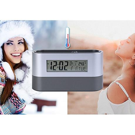 Hộp đựng bút kiêm đồng hồ để bàn V3 (Tặng kèm quạt mini cắm cổng USB vỏ nhựa giao màu ngẫu nhiên) 8