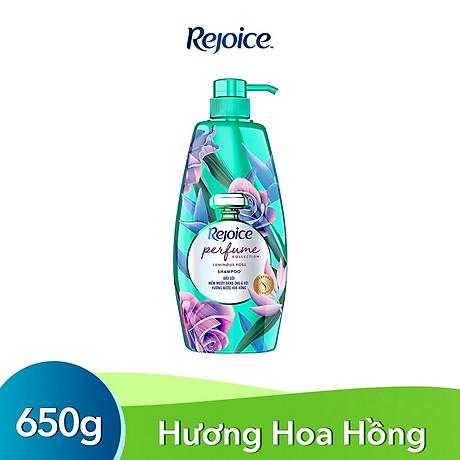 Dầu Gội Rejoice Fraya Hương Hoa Hồng 650g - Dưỡng tóc mềm mượt từ gốc đến ngọn 1