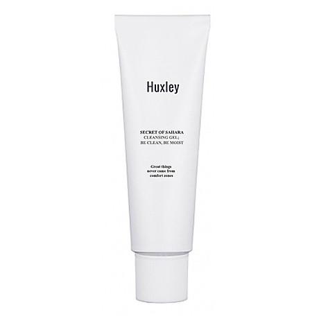 Gel rửa mặt dịu nhẹ dành cho da nhạy cảm Huxley Cleansing Gel Be Clean Be Moist 10ml - Travel size 1