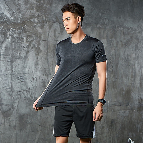 Bộ quần áo thể thao nam co giãn 4 chiều phiên bản Hàn Quốc mã QA.H-193 7