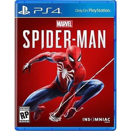 Đĩa Game PS4 Người Nhện hệ Us - Hàng Nhập Khẩu 1