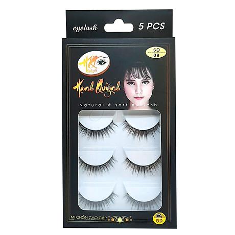 5 cặp lông mi giả tự nhiên Natural & Soft Eyelash (số 09) 1