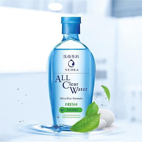 Nước tẩy trang sạch thoáng Senka A.L.L.Clear Water Fresh 230ml 3