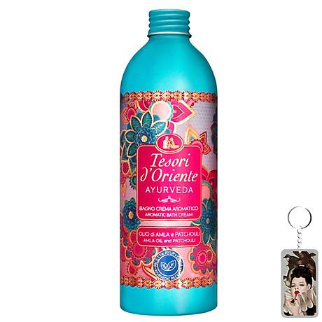 Sữa tắm hương nước hoa Tesori D Oriente Ayurveda Shower Cream 500ml + Móc khóa 1