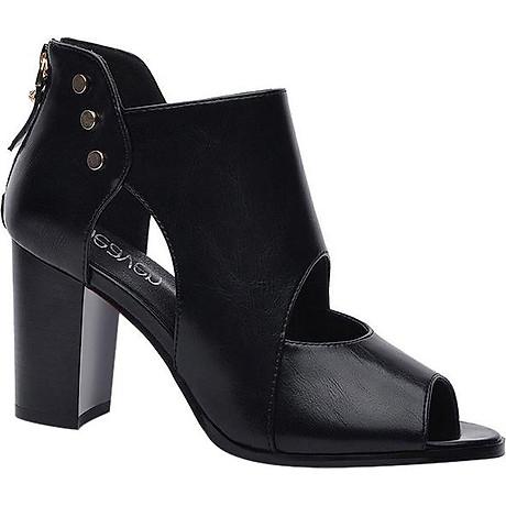Giày Boots Cao Cổ Nạm Kim Loại Monte 1