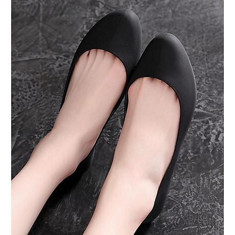 Giày nhựa đi mưa búp bê công sở đế mềm siêu nhẹ form chuẩn 182 1