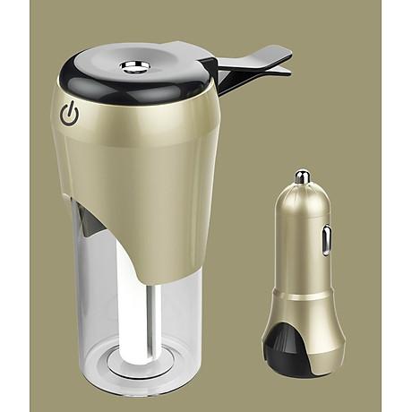 Máy tạo độ ẩm dành cho ô tô (Màu ngẫu nhiên) - tặng kèm đèn pin bóp tay 3