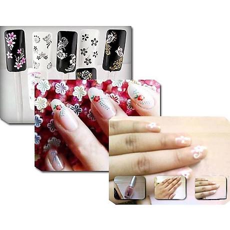 Combo 10 tấm decal dán móng nghệ thuật Nail art Enjoy J350 6