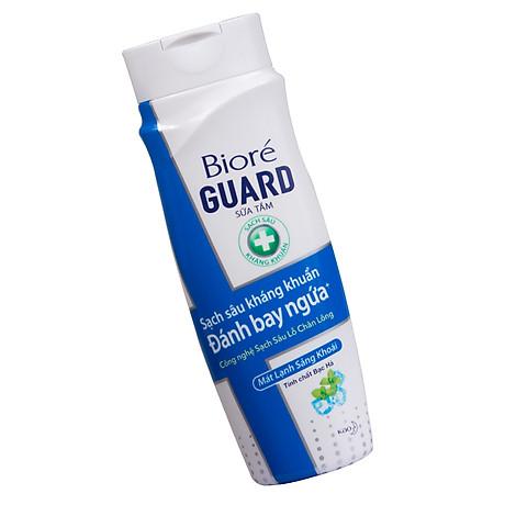 Bộ kháng khuẩn mát lạnh (1 sữa tắm 220g + 1 chống nắng 25ml) Tặng 1 Băng vệ sinh siêu mỏng Laurier 7 Miếng 2