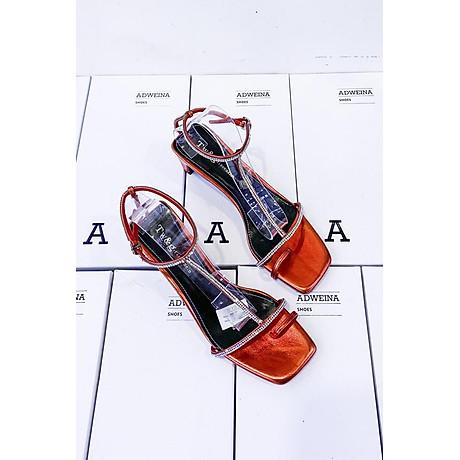 Giày Sandal Cao Gót 5p Quai Đá 1