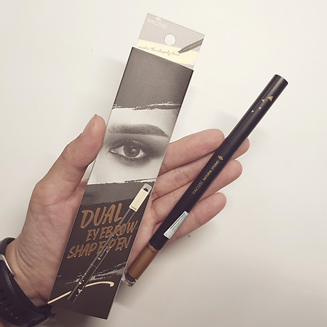 Chì Kẻ Mày Định Hình Đa Năng Vacosi Dual Eyebrow Shape Pen 6